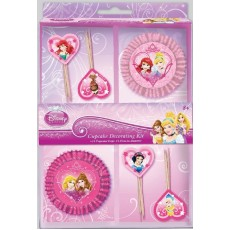 Disney Princess Sparkle Cupcake Cases Pack of 48