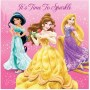 Disney Princess Sparkle Lunch Napkins 33cm x 33cm Pack of 16