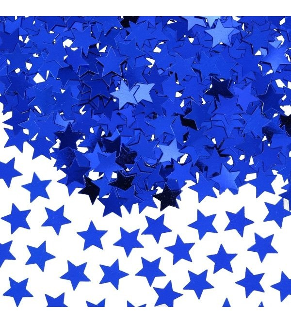 Blue Star Scatters Confetti Single Pack