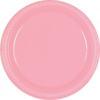 Pink Banquet Plates 26cm New Pastel Pink Pack of 20