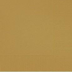 Square Shaped Gold Sparkle Lunch Napkins 33cm x 33cm Pack of 20