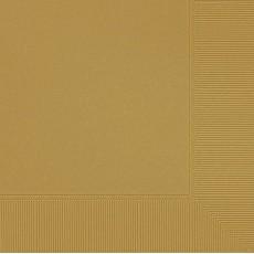 Gold Sparkle Dinner Napkins 40cm x 40cm Pack of 20
