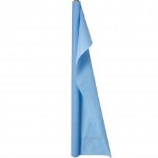 Pastel Blue Plastic Table Roll 1.22m x 30.48m