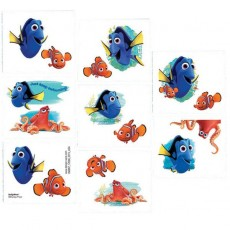 Finding Dory Tattoo Favours 5cm x 4cm 8 Tattoos
