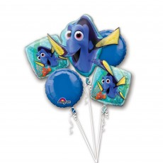 Finding Dory Foil Balloons Bouquet Pack of 5