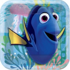 Finding Dory Lunch Plates 18cm Pack of 8