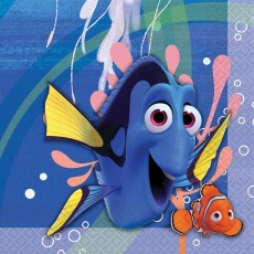 Finding Dory Lunch Napkins 33cm x 33cm Pack of 16