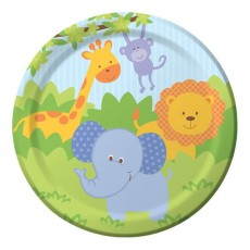 Forest Friends Dinner Plates 23cm Pack of 8