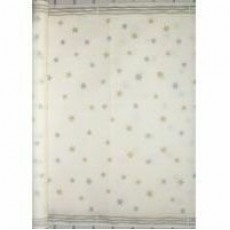 Gold & Silver Stars Tablecloth Paper Roll 30m x 112cm Roll