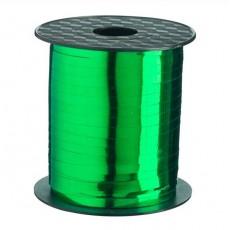 Green Curling Ribbons 5mm x 228m Metallic Emerald Green Roll