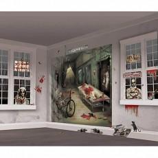 Halloween Asylum Scene Setter Wall Decorating Kits Pack of 32
