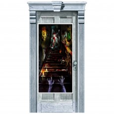 Halloween Haunted Mansion Door Decoration 165cm x 85cm
