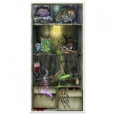 Halloween Refrigerator Door Decoration 76cm x 152cm