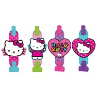 Hello Kitty Blowouts Rainbow Pack of 8