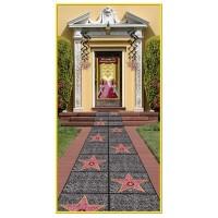 Hollywood Misc Decorations 61cm x 3.05m Star Floor Runner