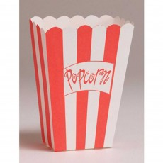 Hollywood Party Food Pails 9.5cm x 13.3cm x 5cm Pack of 8