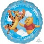 Baby Shower - General Foil Balloons 45cm Winnie The Pooh Jump for Joy! It's a Boy