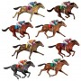 Horse Racing Race Horses Wall Decorations Insta-Theme Props Misc Decorations 74cm Pack of 8