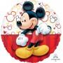 Round Mickey Mouse Portrait Standard HX Foil Balloon 45cm