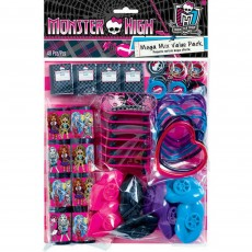 Monster High Favours For 8 Guests Pack 48 Items