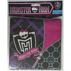 Monster High Lunch Napkins 33cm x 33cm 2 Ply Pack of 16