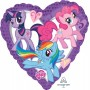 My Little Pony Party Decorations - Shaped Balloon Standard XL Heart