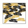 Black & Gold Happy New Year Confetti 14g