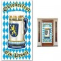 Oktoberfest Plastic Cover Door Decoration 76cm x 152cm