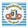 Oktoberfest Lunch Napkins 33cm x 33cm Pack of 16