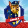 Paw Patrol Chase Beverage Napkins 25cm x 25cm Pack of 16