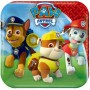 Paw Patrol Lunch Plates 18cm Paper Pack of 8