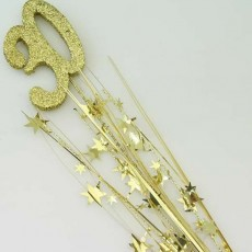 30th Birthday Spangles 61cm Gold
