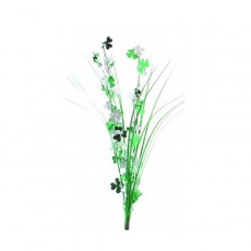 Green & White St Patrick's day Shamrock Onion Grass Spangle 56cm
