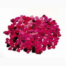 Hearts Fuchsia Pink Scatterfetti Confetti 15g Single Pack