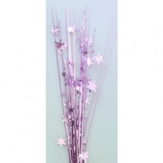 Pink Stars Onion Grass Spangle 56cm