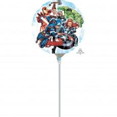 Round Avengers Foil Balloon 22cm