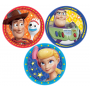 Round Toy Story 4 Lunch Plates 17.7cm Pack of 8