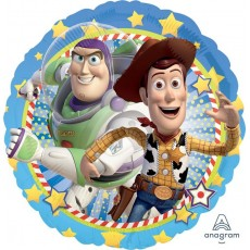 Toy Story Standard HX Woody & Buzz Foil Balloon