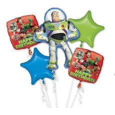 Toy Story Gang Bouquet Foil Balloons