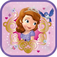 Sofia The First Lunch Plates 18cm Pack of 8