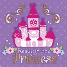 Sofia The First Lunch Napkins 33cm x 33cm Pack of 16