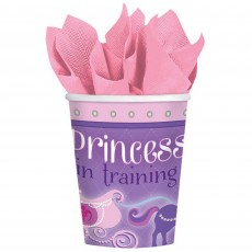 Sofia The First Paper Cups 266ml Pack of 8
