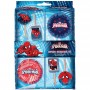 Ultimate Spider-Man Picks & Cupdake Cases Pack of 48