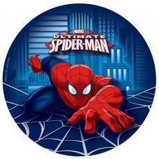 Round Spider-Man Dinner Plates 23cm Pack of 8