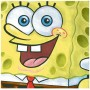 SpongeBob Lunch Napkins 33cm x 33cm Pack of 16