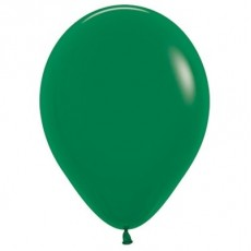 Teardrop Fashion Forest Green Latex Balloons 12cm Pack of 50