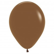 Brown Party Decorations - Latex Balloons Fashion Coffee Brown 12cm