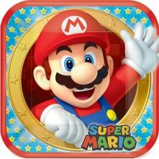 Super Mario Paper Dinner Plates