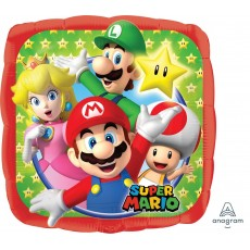 Super Mario Standard HX Foil Balloon