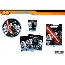 Star Wars Party Supplies - Packs for 8 guests